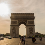 Canva - Arc De Triomphe In Paris, France